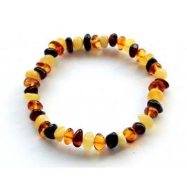 5 items Amber Bracelet
