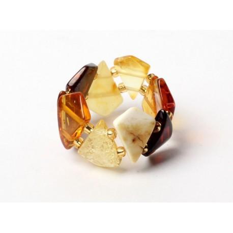 5 items Amber rings
