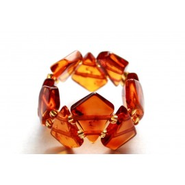 5 items Amber rings