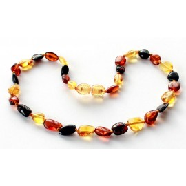 10 items Amber Teething necklaces