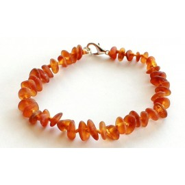 5 items Raw Amber Bracelets