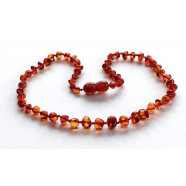 10 items Baroque Amber Teething necklaces