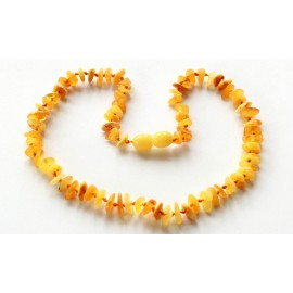 10 items Chip Amber Teething necklaces