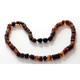 5 items Amber Teething necklaces
