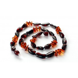5 items Amber necklaces