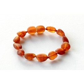 10 items Raw Amber Teething bracelets