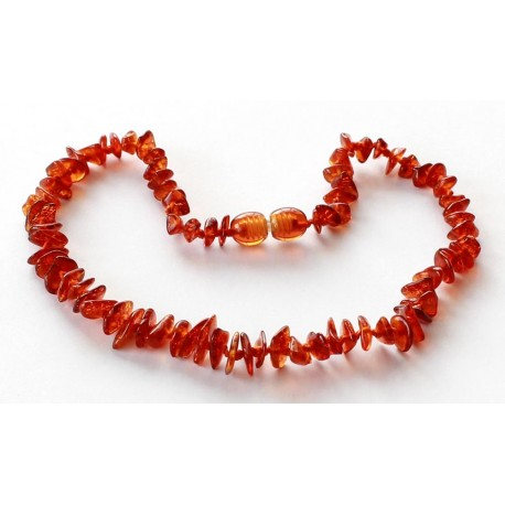 10 items Chips Amber Teething necklaces