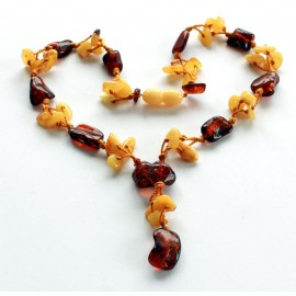 4 items Amber Necklace