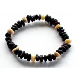 5 items Raw Amber Bracelets