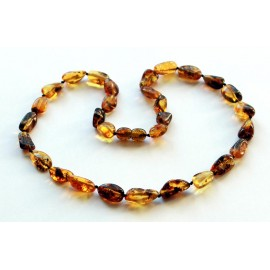 3 items Amber necklaces