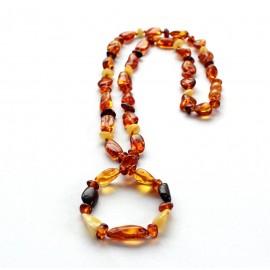 3 items Amber Nursing Necklaces