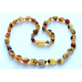5 items (55 cm) Amber Necklaces