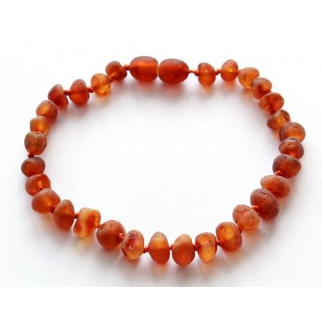 5 items Baroque Amber Bracelets