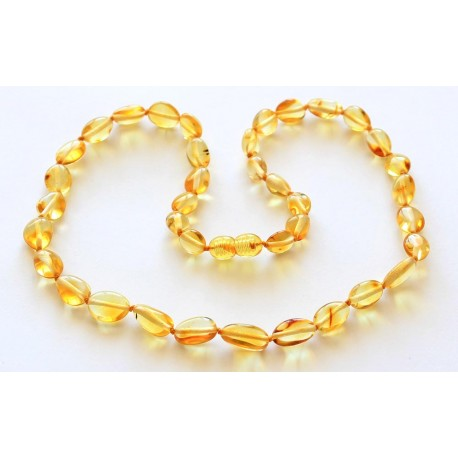 Amber necklaces