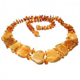 Amber Necklace 5 items