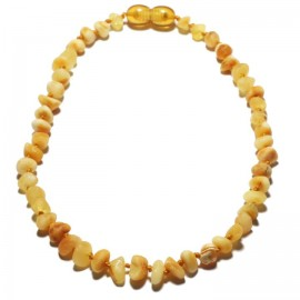 Amber teething necklace 6