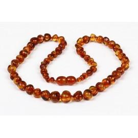 Baroque Amber Necklaces