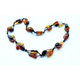 5 items Amber Necklace