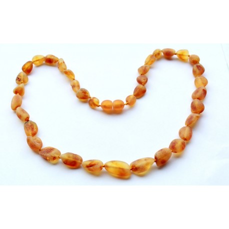 Raw Amber Necklaces 5 items