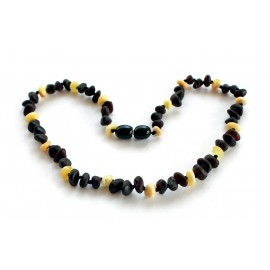 Raw Amber Teething Necklace R55