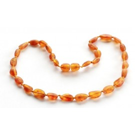 Raw Teething necklace