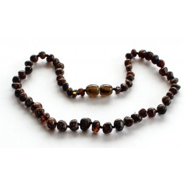 Baroque Amber Teething Necklace B158