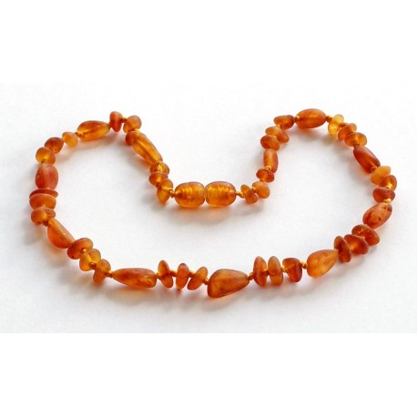 Amber Raw Teething necklace