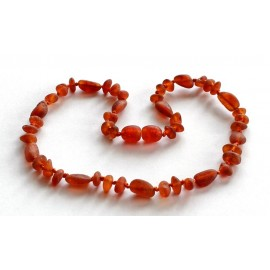 Raw Amber Teething Necklace RC60