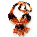 Amber necklace KP20