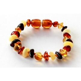 Amber Teething bracelet TB-PB26