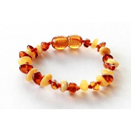 Amber Teething bracelet TB-PB25