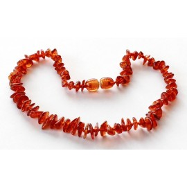 Chip Amber Teething necklace