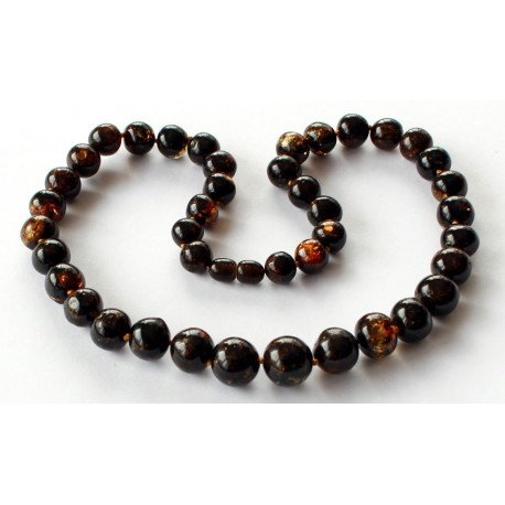 Amber Necklace 129