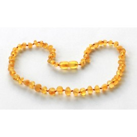 Raw Baroque Amber Teething Necklace BR52