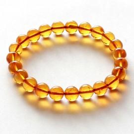 Round Amber Bracelet