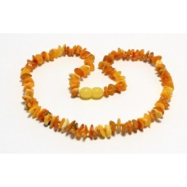 Chip Amber Teething necklaces