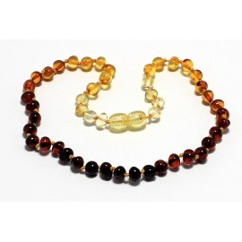 Baroque Amber Teething Necklace B157