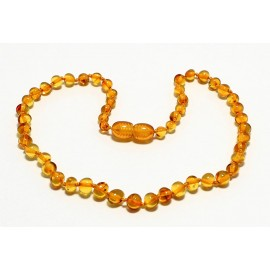 Baroque Amber Teething Necklace B151