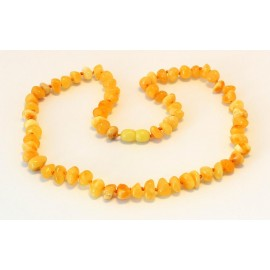 Baroque Amber Necklace