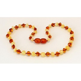 Baroque Amber Teething necklace B148