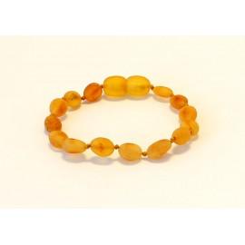 Raw Amber Teething bracelet TB-R33