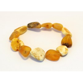 Raw Amber Bracelet BR604