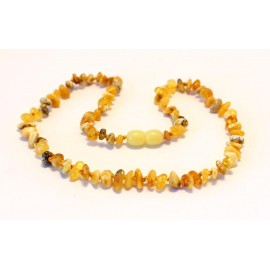 Raw Teething Necklace R35-38