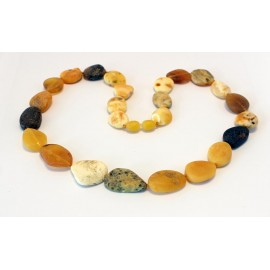 Raw Amber Necklace RK53