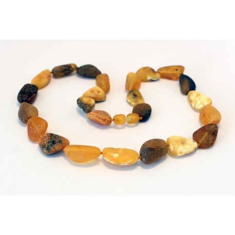 Raw Amber Necklace RK54