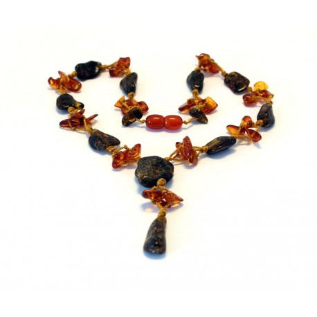 Amber Necklace N920
