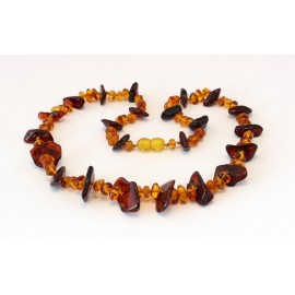 Amber necklace N836