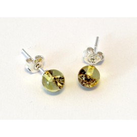 Amber earring s27