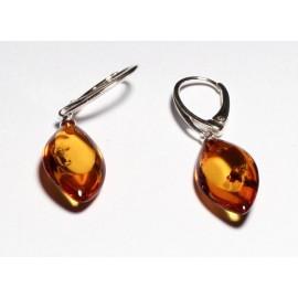 Amber earrings s20