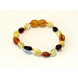 Amber Teething bracelet 11TB
